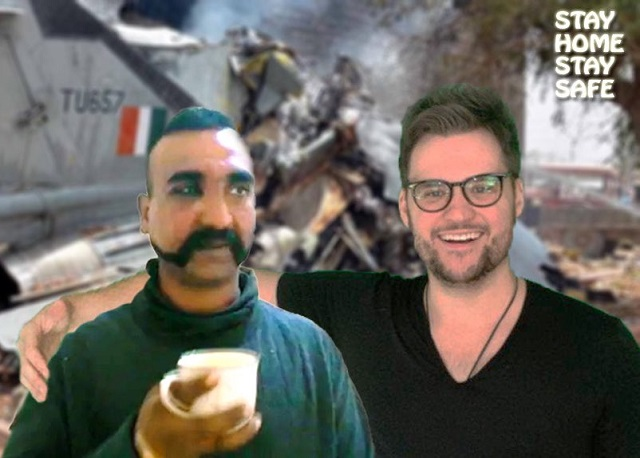 american comedian s tweet on abhinandan sends indian social media into a frenzy