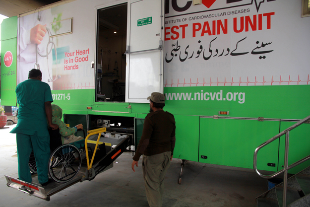 nicvd offers sindh govt assistance to set up mobile labs for covid 19 testing