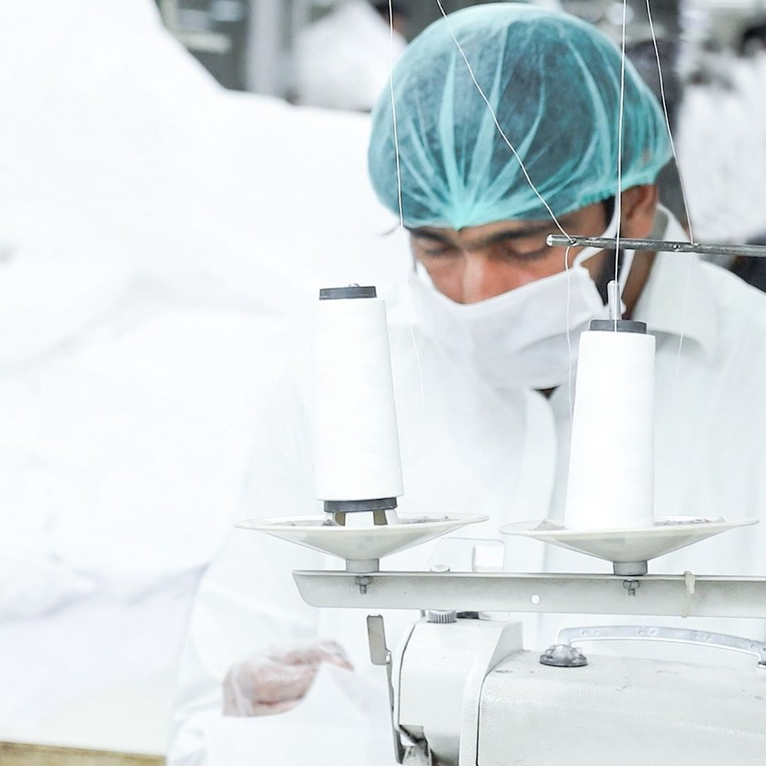 outfitters is producing free of cost protective uniforms for doctors