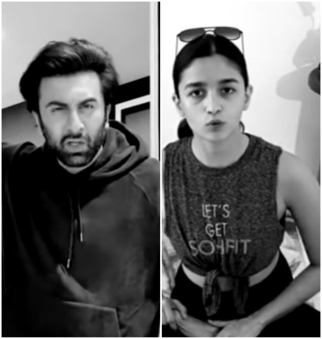 ranbir kapoor and alia bhatt shot each other s scenes in family