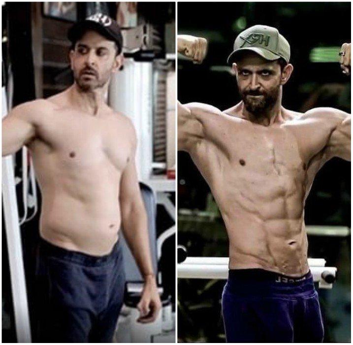 watch hrithik roshan films inspirational body transformation