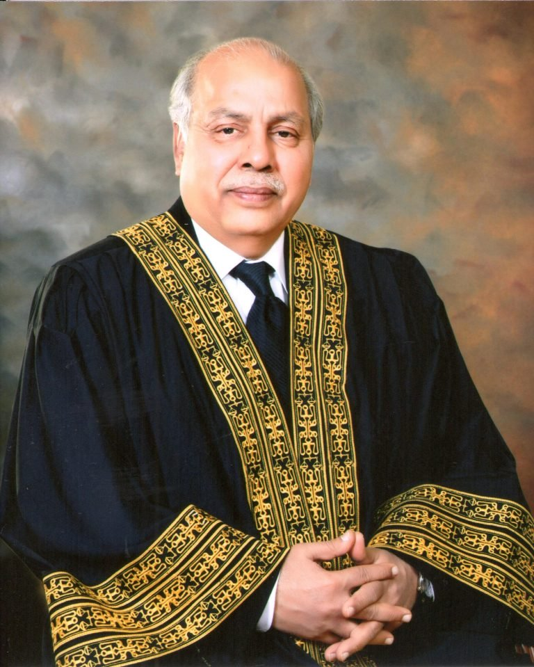 chief justice of pakistan gulzar ahmed photo supreme court