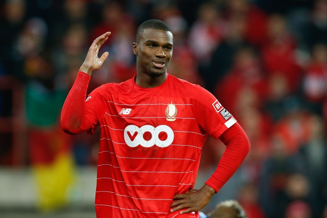 standard liege player obbi oulare was among five people fined at the weekend photo file