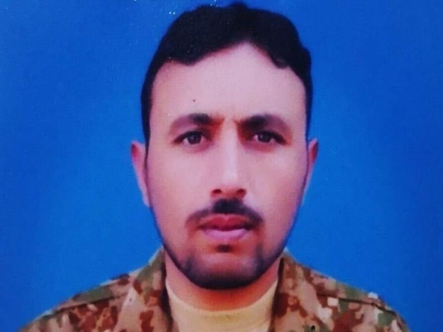 naik adil shahzad was resident of village karer in masehra and is survived by wife and son photo ispr