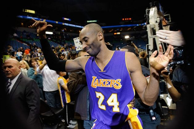 bryant scored 60 points in that his final game in a 20 year nba career that included five championships photo afp