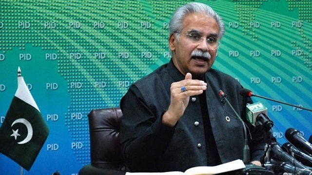 SAPM Dr Mirza says infections two-third lower than forecast. PHOTO: FILE