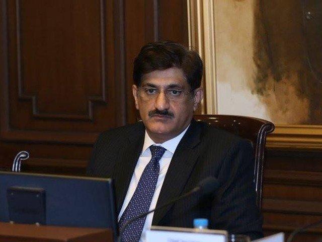 sindh chief minister murad ali shah photo file