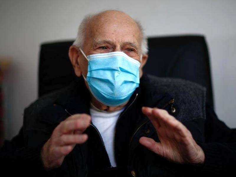 chenay holds virtual consultations for patients some of whom he has treated for decades photo reuters