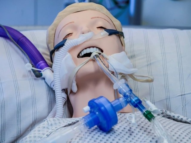a training ventilator at the eppendorf university hospital in hamburg march 25 photo afp