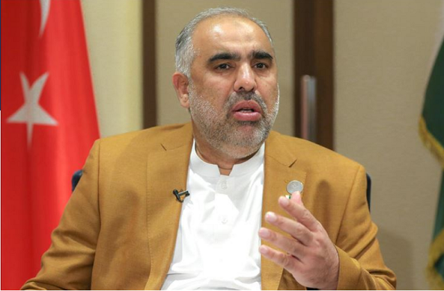 pakistan national assembly speaker asad qaiser photo anadolu agency