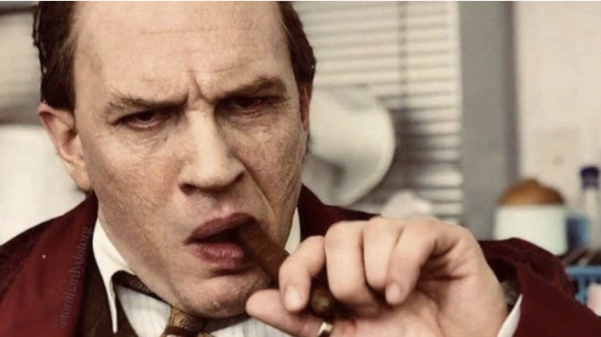 watch first trailer of tom hardy as capone revealed