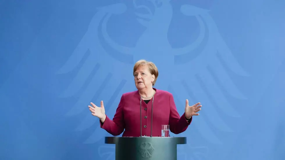 angela merkel has been in power since 2005 but the race for her successor is warming up photo afp