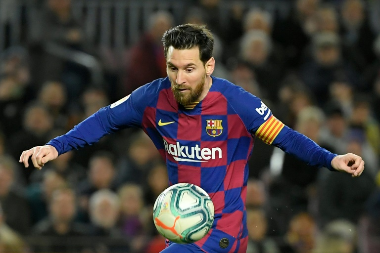 la liga and uefa have not given their approval to the plan with both governing bodies insisting they are still focused on finding a way to ensure domestic seasons are completed photo afp
