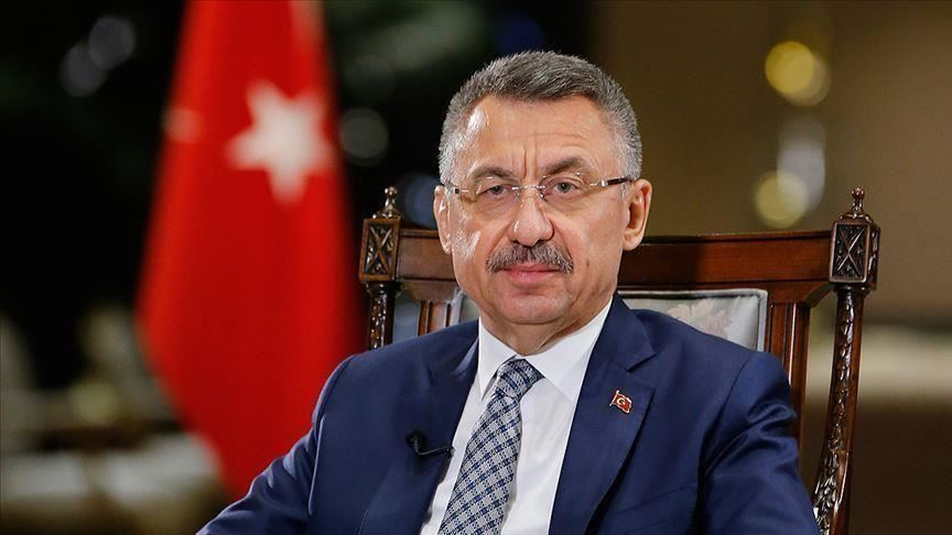 oktay said the turkish nation and state are determined to face down the coronavirus crisis with the help of the country s fellowship and solidarity photo aa