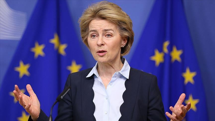 von der leyen interpreted the apology as the beginning of a change and praised europe for becoming the world s beating heart of solidarity citing examples of eu states sending medical equipment and personnel to italy photo aa