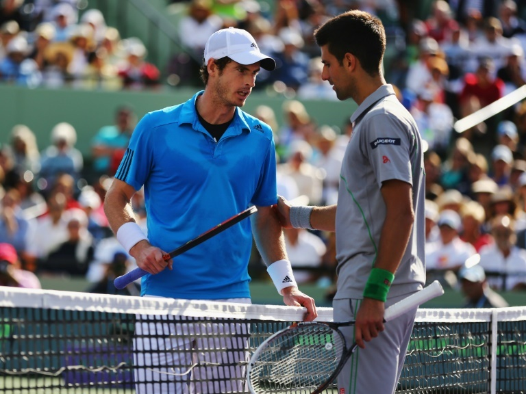 murray and djokovic shared an instagram live chat where they discussed a rivalry which began in childhood and is still going strong in their early 30s photo afp