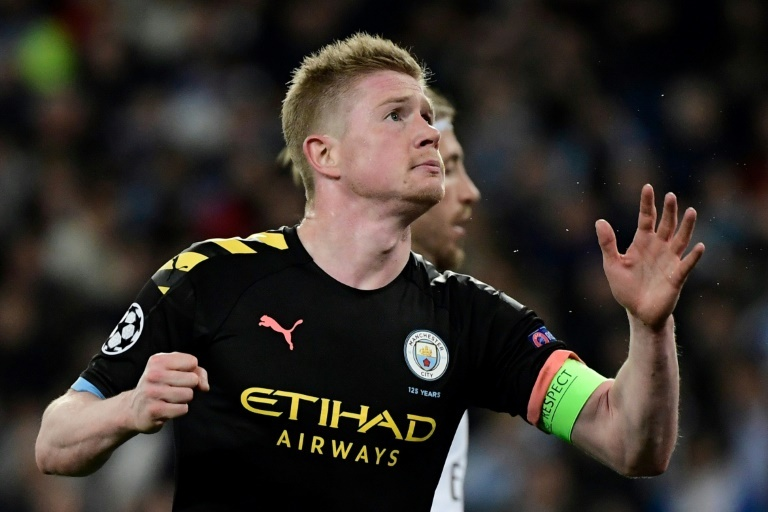de bruyne and his family felt ill for around two weeks but the belgian international did not find out whether or not it was the virus photo afp