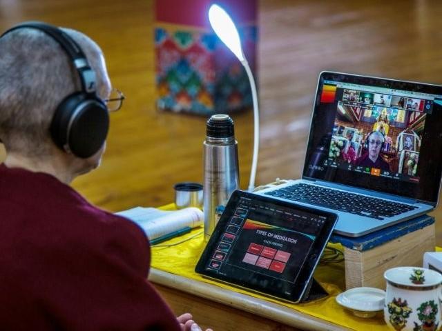 deep connection virus takes india s spiritual retreats online