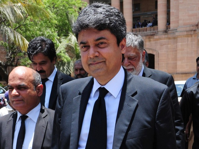 federal law and justice minister farogh naseem photo afp