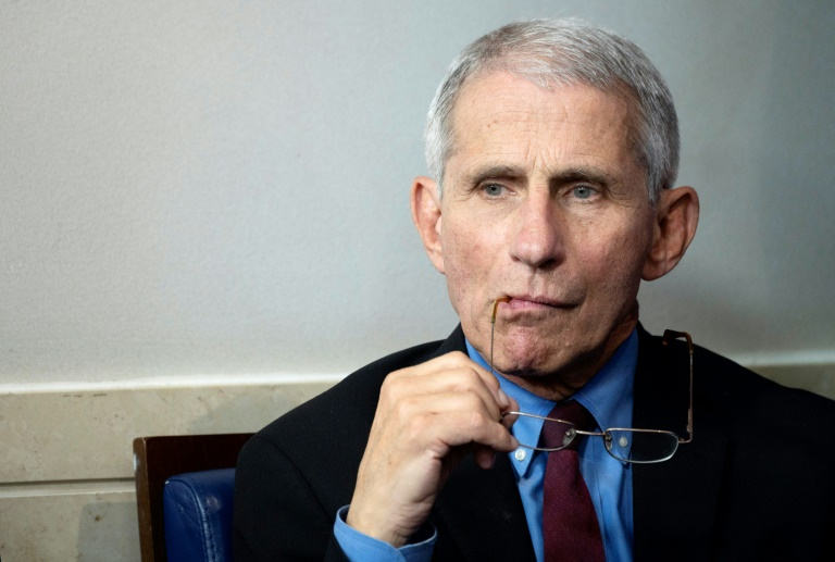 anthony fauci the head of the us national institute of allergy and infectious diseases has emerged as a new national hero during the coronavirus crisis photo afp