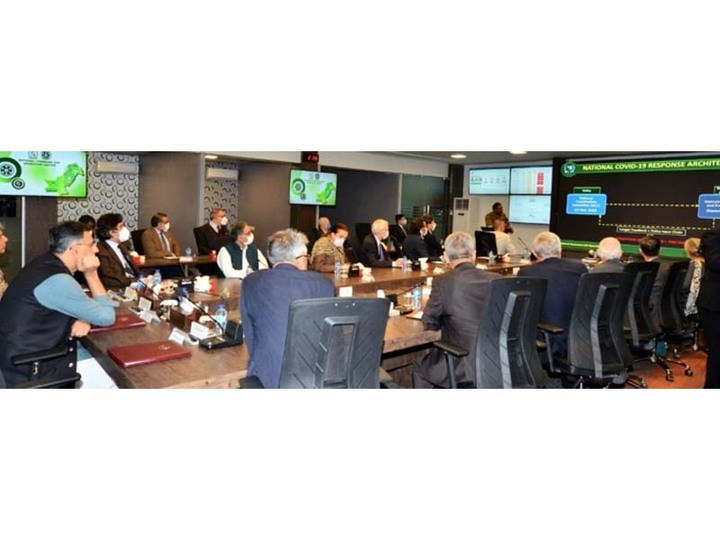 diplomats belonging to 19 countries visit ncoc in islamabad says official statement photo express