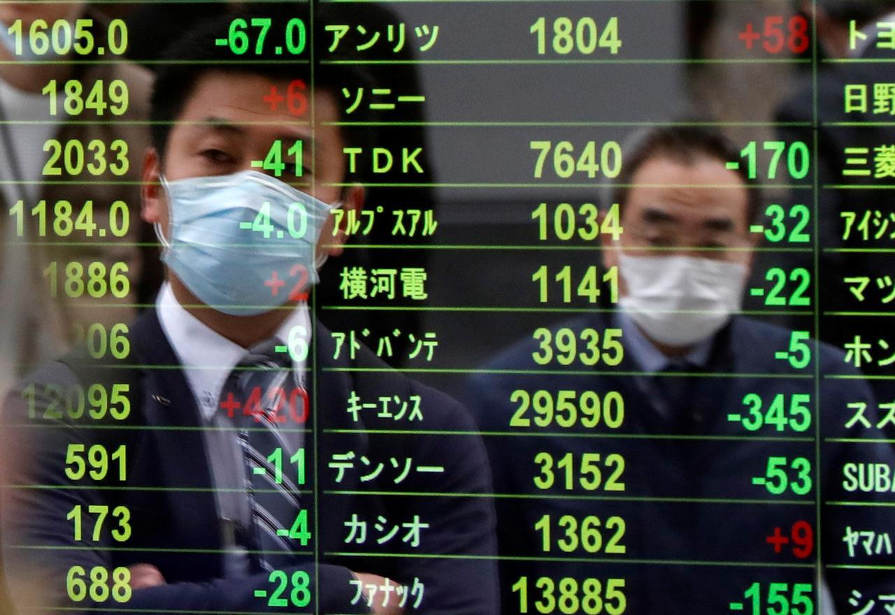 asian markets photo reuters