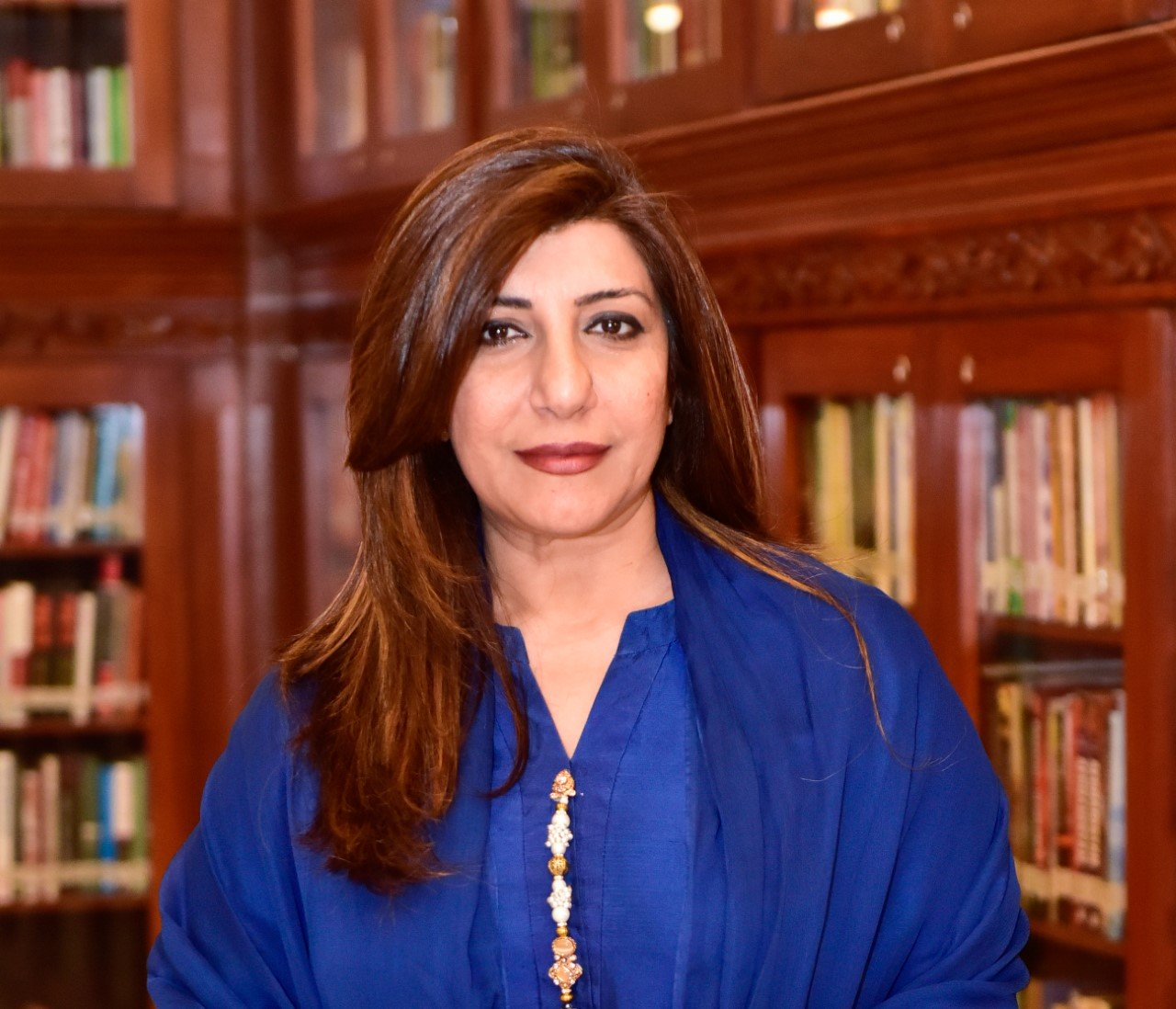 fo spokesperson aisha farooqui photo file