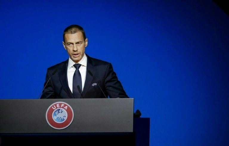 European football believes that playing would be an important step towards a return to normal life and avoid heavy financial losses for leagues. PHOTO: AFP