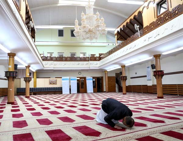 Mosque administrations have now launched online donation appeals. PHOTO : Reuters