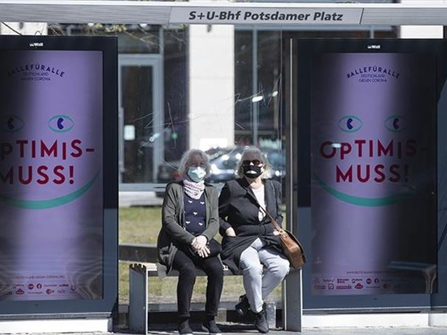all federal states announced new measures cloth masks to be mandatory in shopping public transport photo anadolu