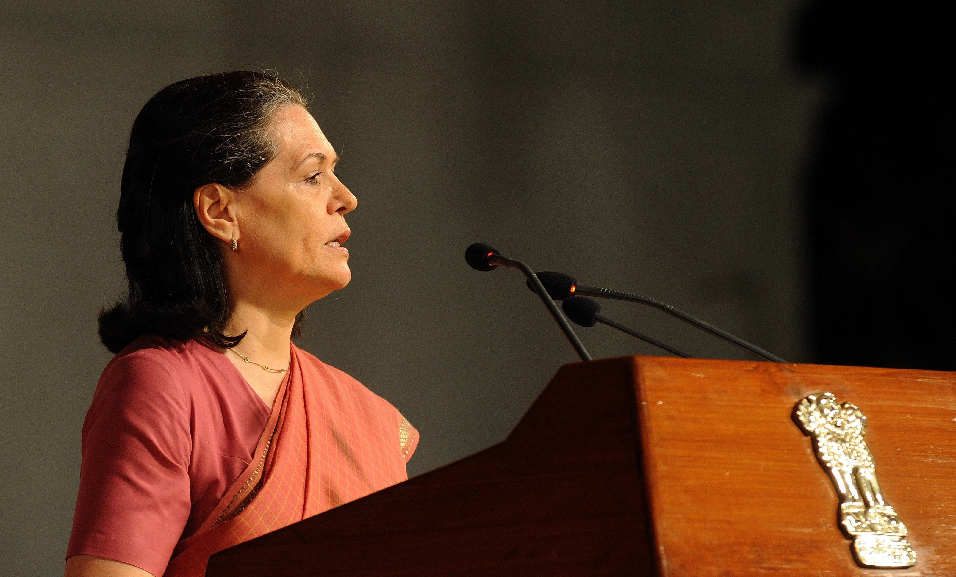 indian national congress inc president sonia gandhi photo afp file