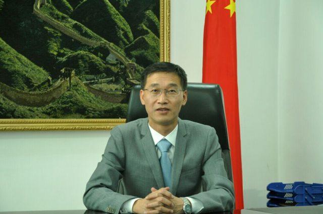 chinese ambassador yao jing photo file