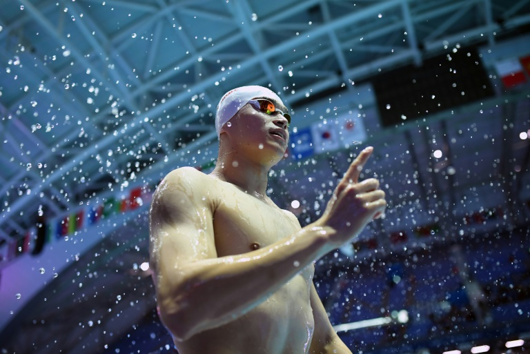 unless he is successful with an appeal the 28 year old will not be eligible for the tokyo games in 2021 and his career is effectively over photo afp