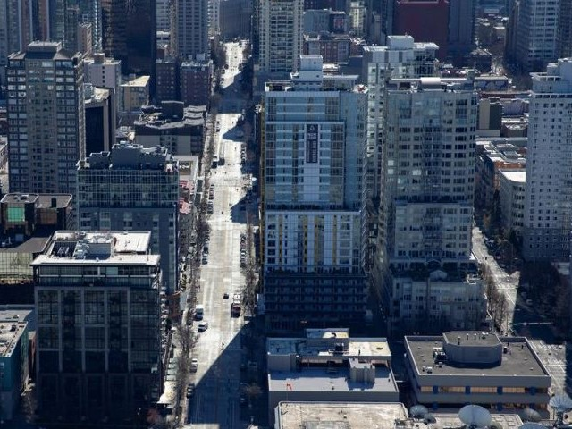 the downtown streets of seattle during the outbreak of coronavirus photo reuters file