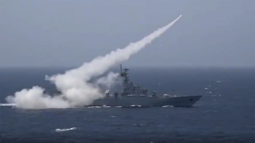 pakistan navy conducts successful anti ship missile live fire demonstration