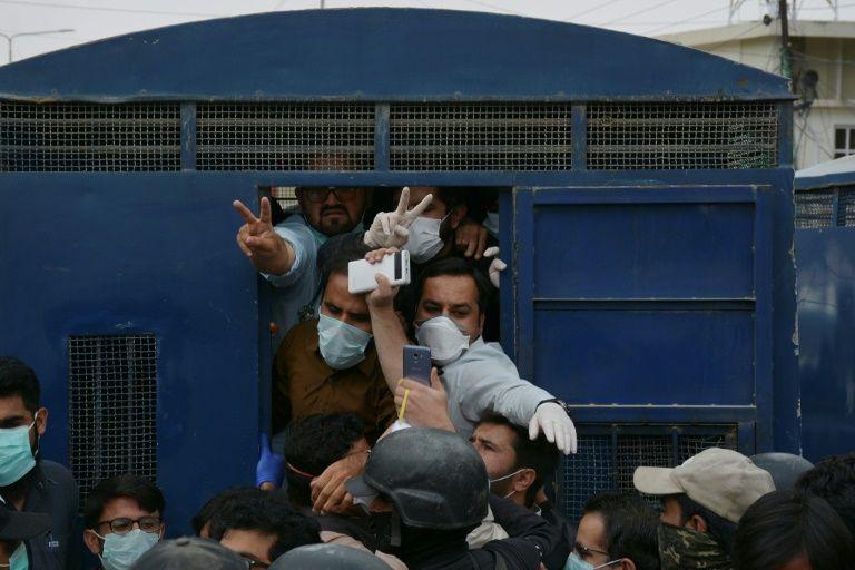 yda medics on hunger strike in punjab photo reuters