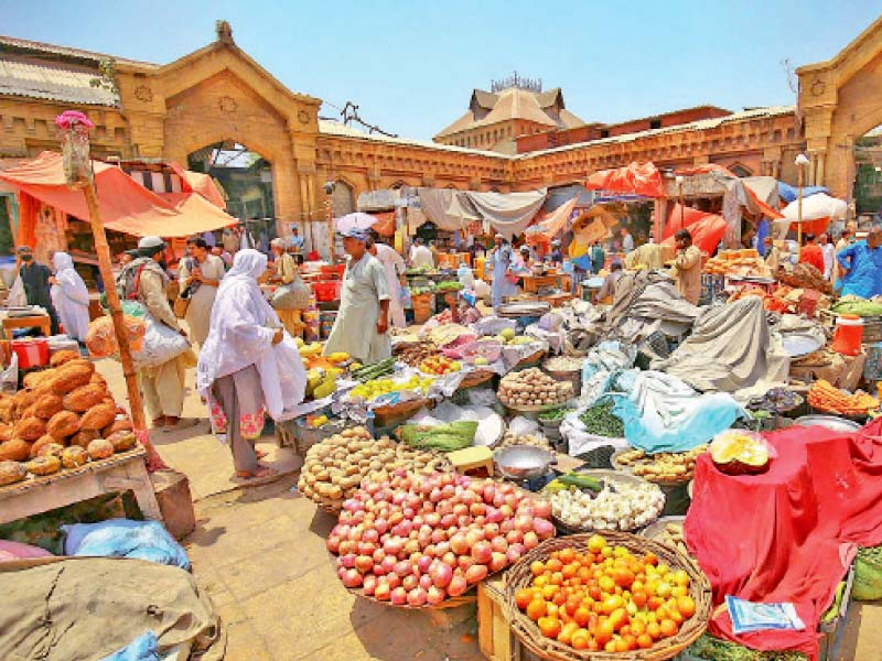 food prices have soared with the advent of ramazan even as thousands of people struggle to make ends meet during the ongoing lockdown photo inp