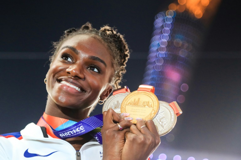 reigning 200 metres world champion was one of britain 039 s best prospects for gold in japan this year photo afp