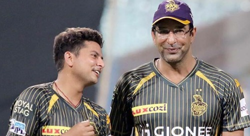 kuldeep yadav was inspired by wasim akram at kkr
