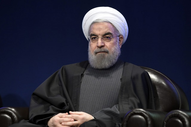 iranian president hassan rouhani said the country will be divided up into white yellow and red regions based on the number of infections and deaths photo afp file