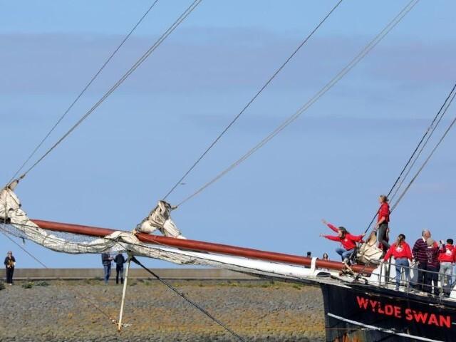they sailed a 7000 kilometre trip that took them five weeks photo reuters