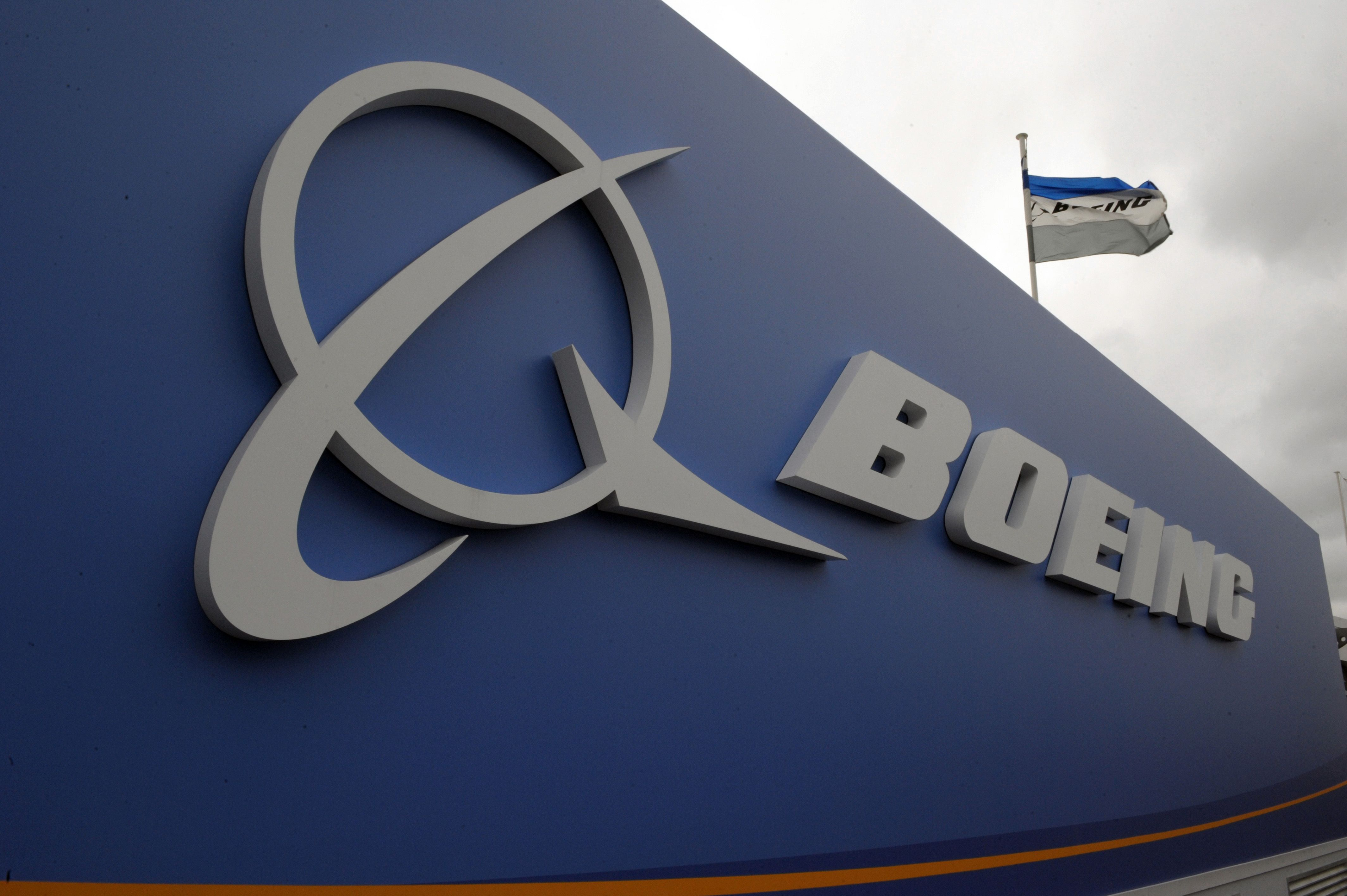 the logo of us aircraft manufacturer boeing photo afp