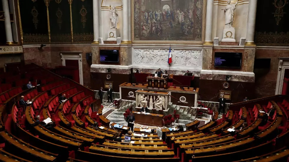 french ministers and deputies attend the weekly session of questions to the government at the national assembly in paris france photo reuters
