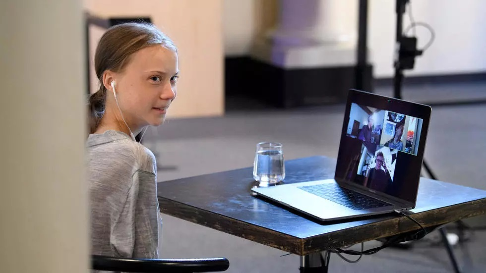 thunberg said at the end of march that she had quot likely quot contracted the coronavirus after experiencing several symptoms after a trip to central europe photo afp