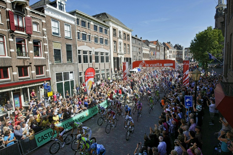tour of spain was scheduled to begin on august 14 in utrecht and finish on september 6 in madrid photo afp