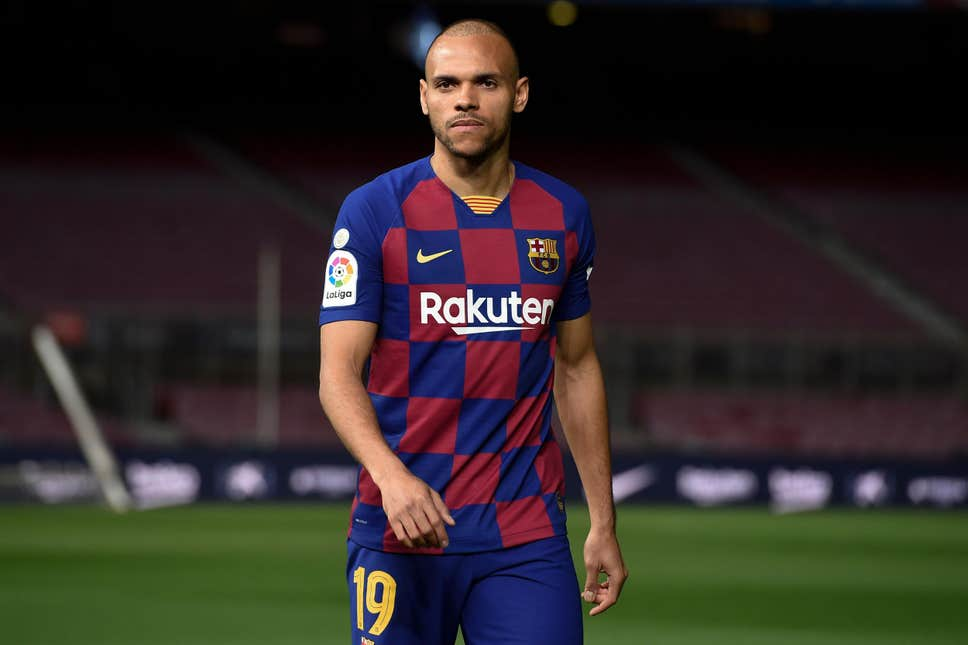 danish played three games for his new team before the coronavirus caused la liga to be suspended and he impressed photo afp