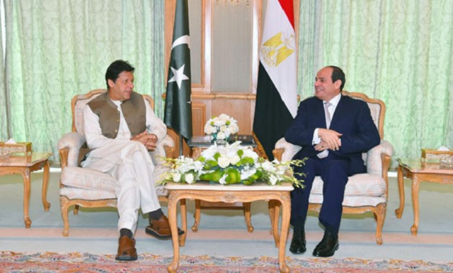 president sisi expresses support for the prime minister s debt relief initiative photo egypt today file