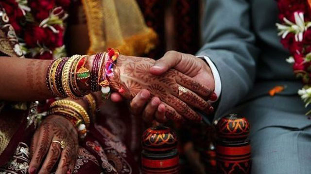Groom says couple were unable to obtain marriage certificate over lack of witnesses. PHOTO: AFP/FILE