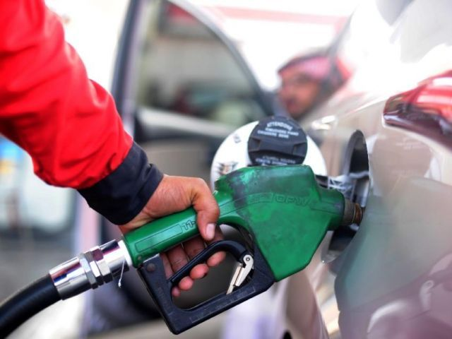 price of high speed diesel also massively cut by rs 27 15 per litre photo afp