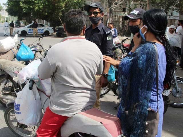 with 446 fresh cases in karachi the city now has close to 5 000 coronavirus patients photo express file